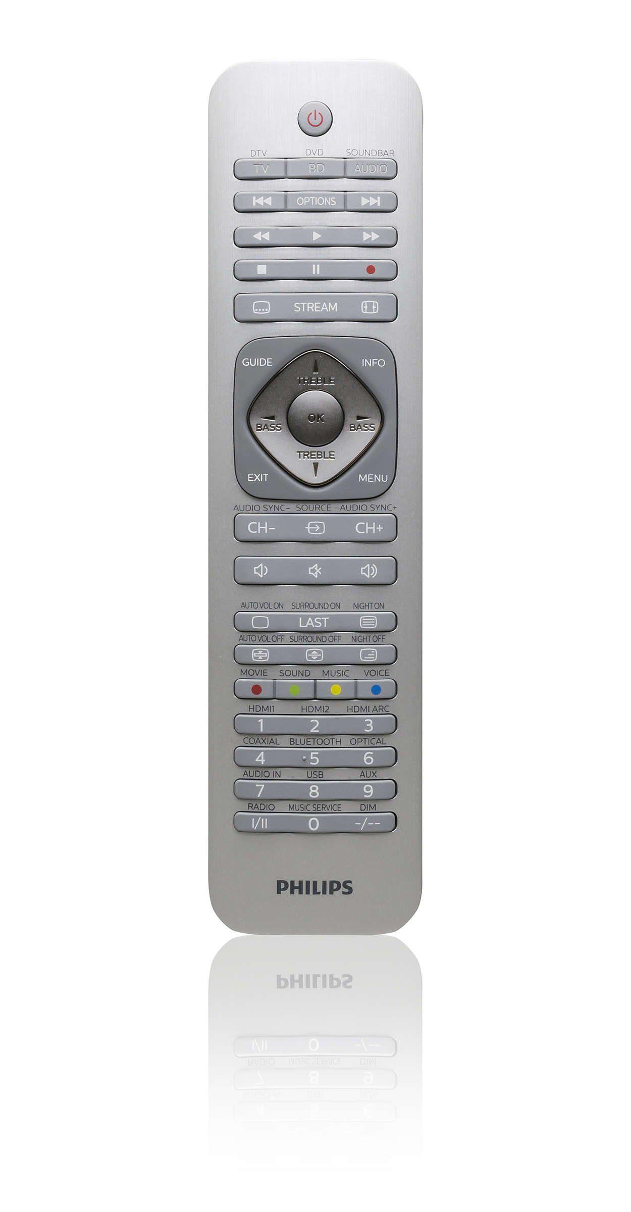 Philips Fernbedienung »SRP6013/10«