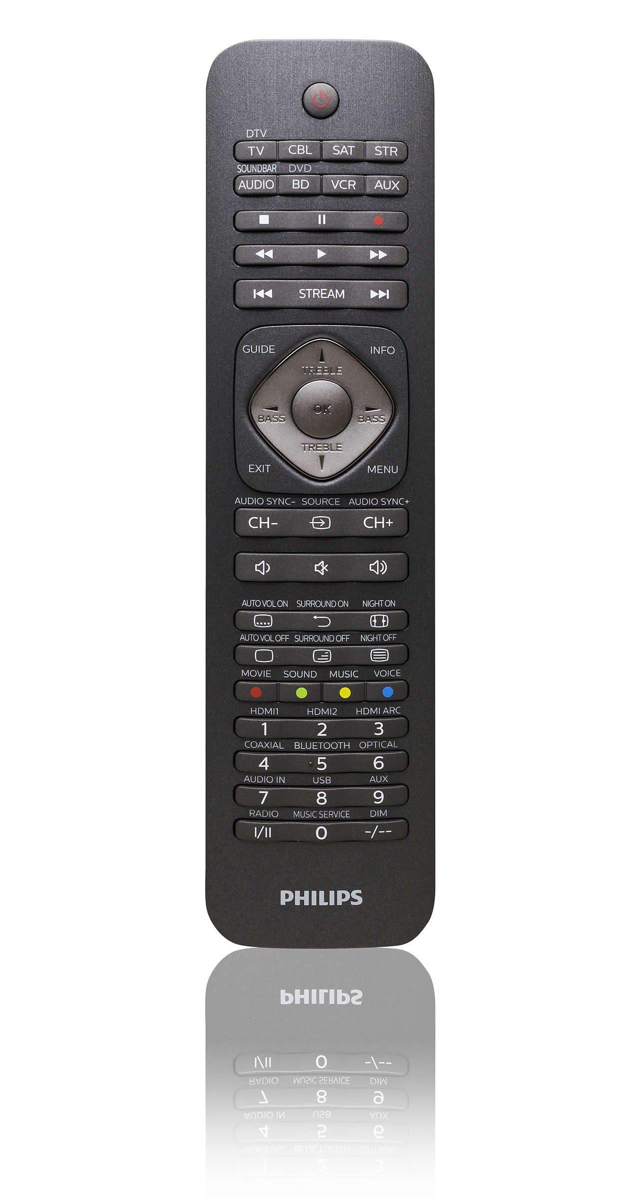 Philips Fernbedienung »SRP5018/10«