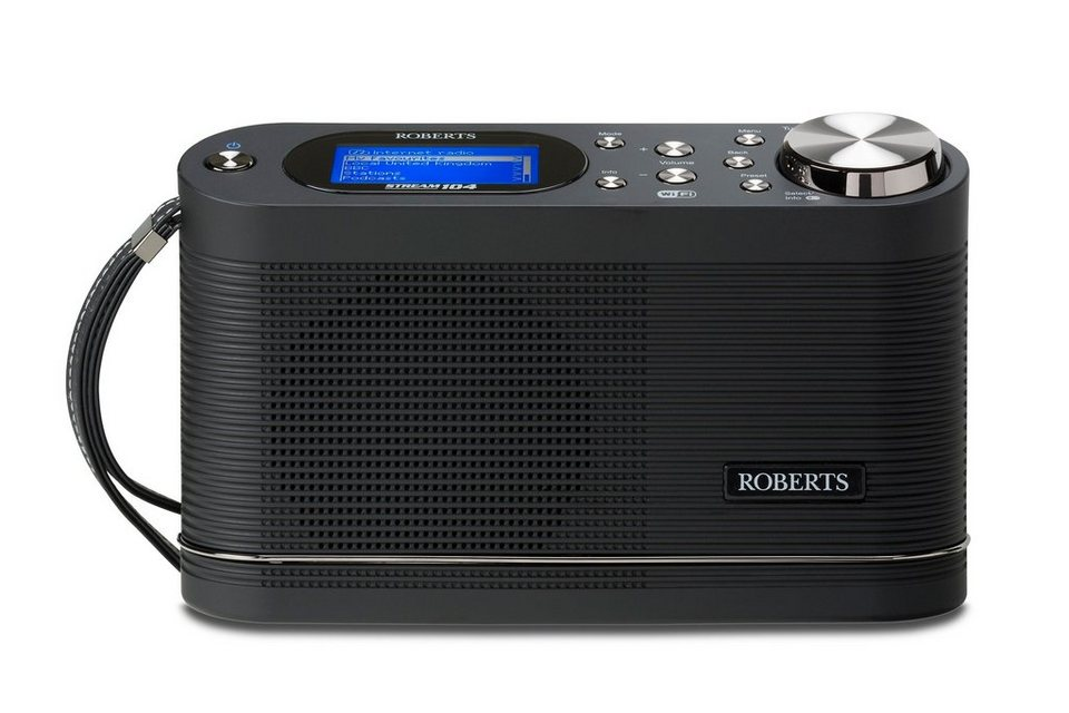 Roberts Radio Internetradio »Stream 104« in schwarz