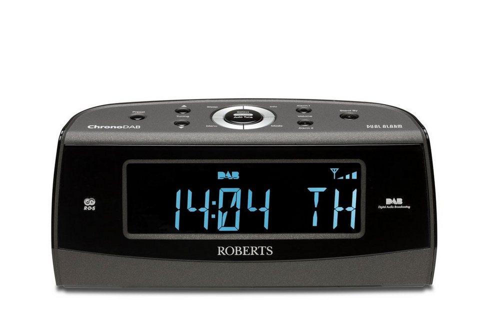 Roberts Radio Radiowecker »ChronoDAB« in schwarz