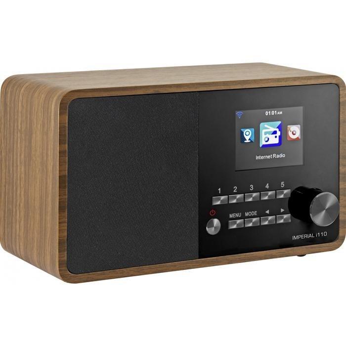 IMPERIAL Internetradio »i110« in Holzoptik