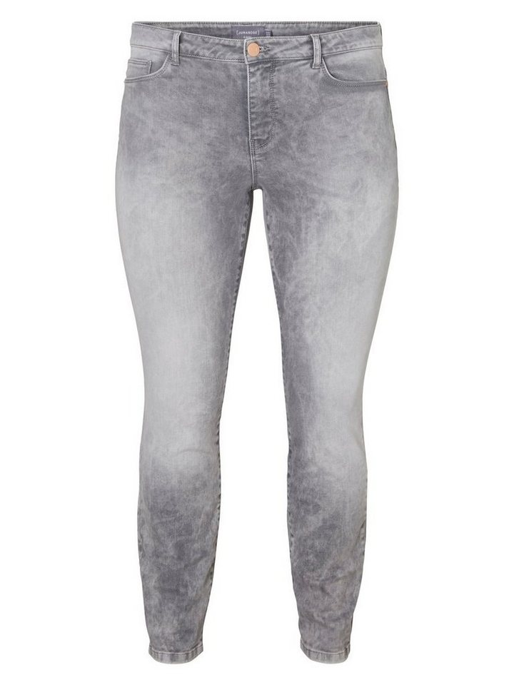 JUNAROSE JRFIVE Slim Fit Jeans in Medium Grey Denim