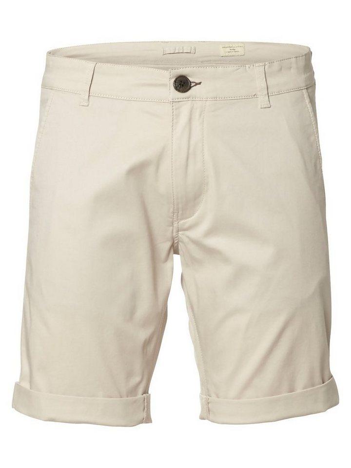 Selected Chino- Shorts in Moonstruck