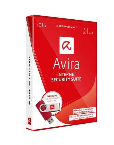 Avira Software »Avira Internet Security Suite inkl. 16GB USB Stick« Sale Angebote