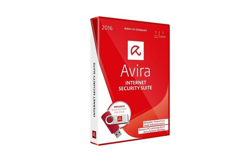 Avira Software »Avira Internet Security Suite inkl. 16GB USB Stick«