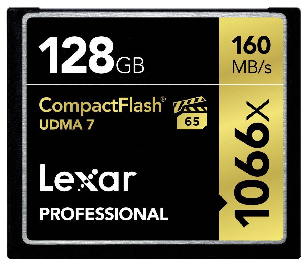 Lexar Speicherkarten »CF Card 128GB 1066x Professional UDMA7«