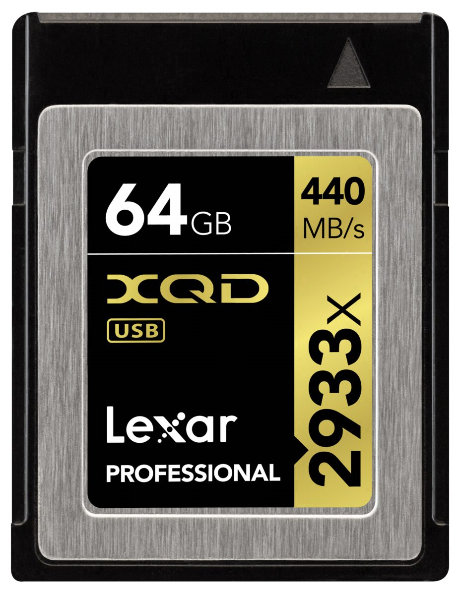 Lexar Speicherkarten »XQD Card 64GB 2933x Professional«