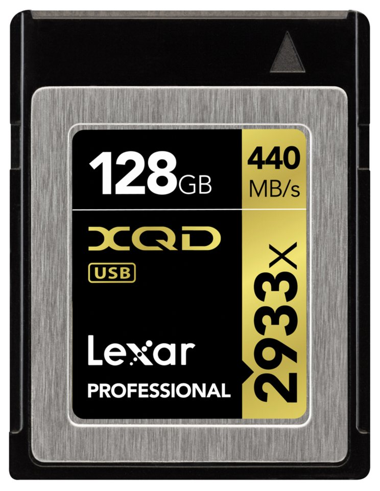 Lexar Speicherkarten »XQD Card 128GB 2933x Professional«