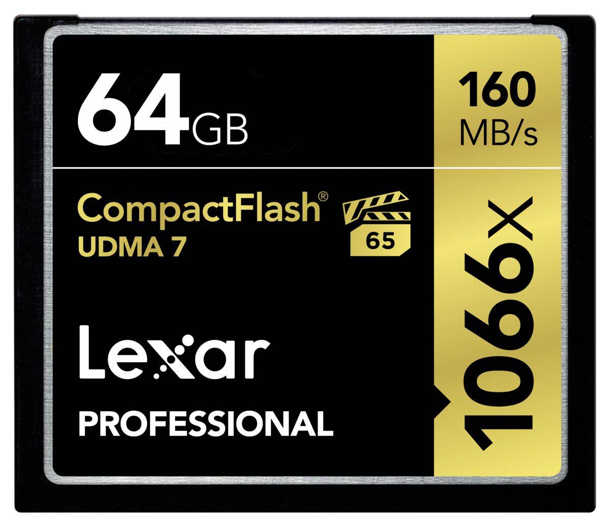 Lexar Speicherkarten »CF Card 64GB 1066x Professional UDMA7«