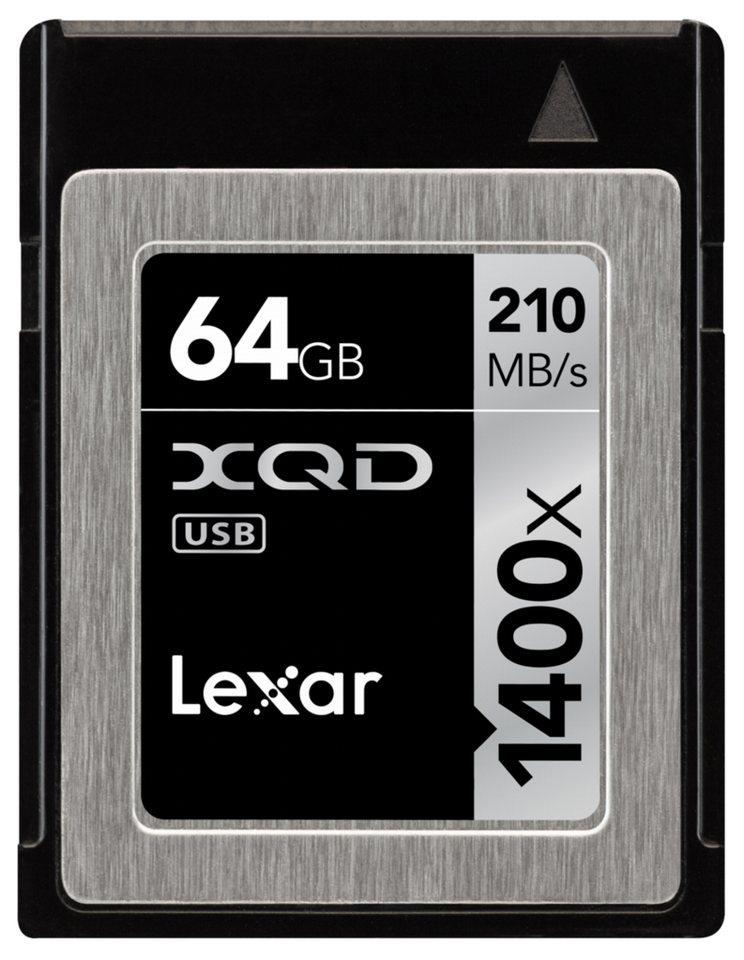 Lexar Speicherkarten »XQD Card 64GB 1400x Professional«