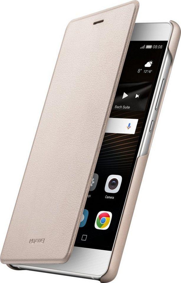 Huawei Handytasche »Flip Cover für P9 lite« in Gold