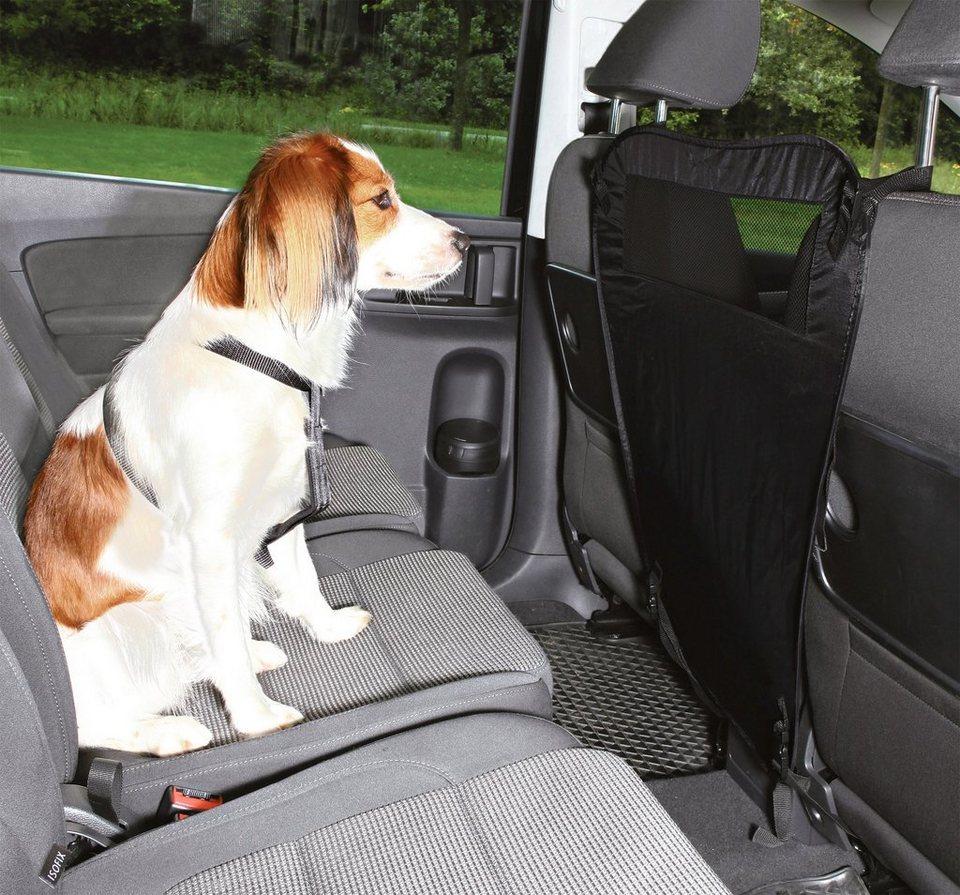 Hunde-Auto-Abtrennung, BxH: 60/44x69 cm in schwarz