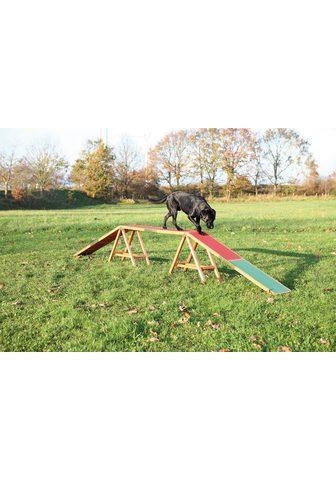 TRIXIE Hunde Agility Steg L/B/H: 456/30/64 cm...