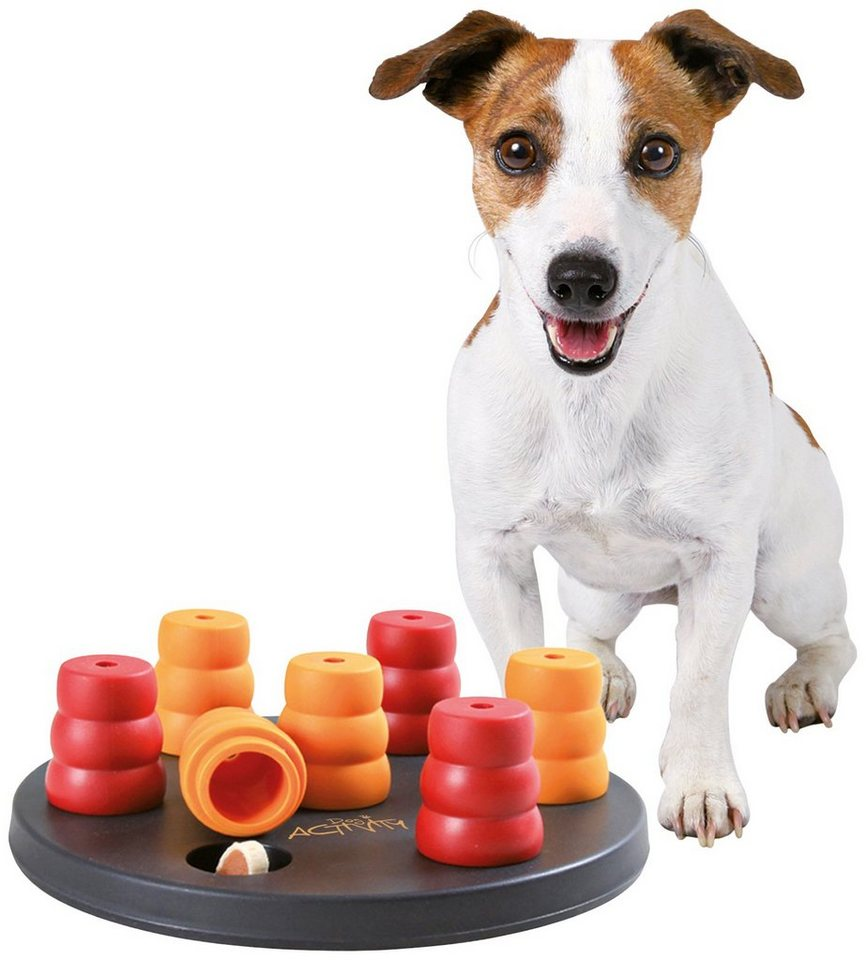 Hundespielzeug »Mini Solitär Strategiespiel« in rot