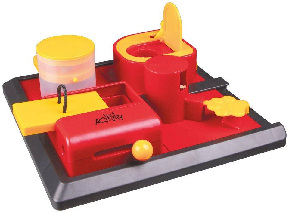 Hundespielzeug »Poker Box 2 Strategiespiel« in rot