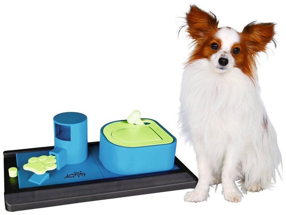 Hundespielzeug »Poker Box Vario Strategiespiel« in blau