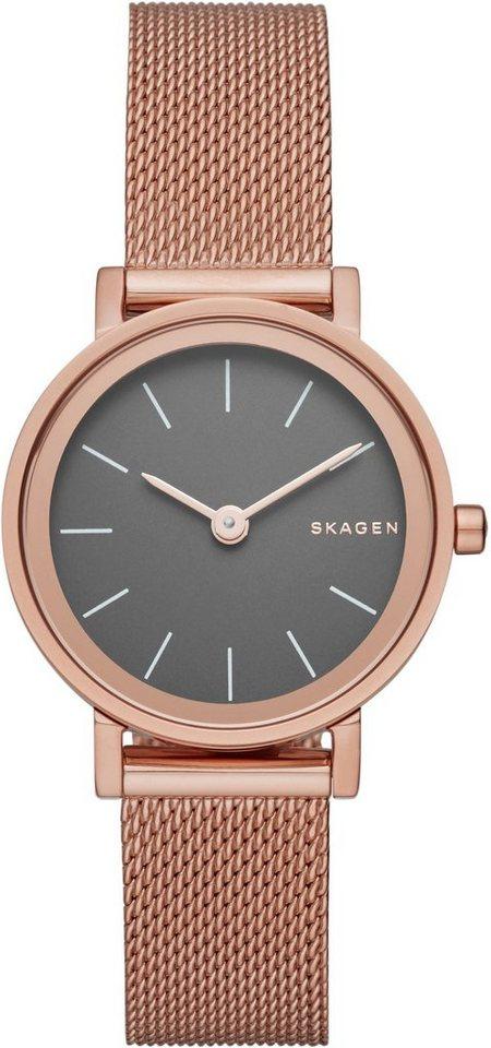 Skagen Armbanduhr, »HALD, SKW2470« in roségoldfarben
