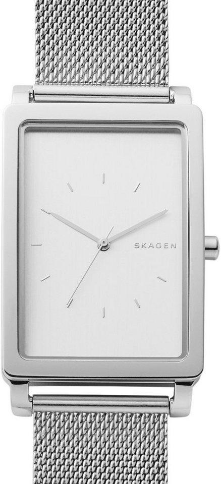 Skagen Armbanduhr, »HAGEN, SKW6288« in silberfarben