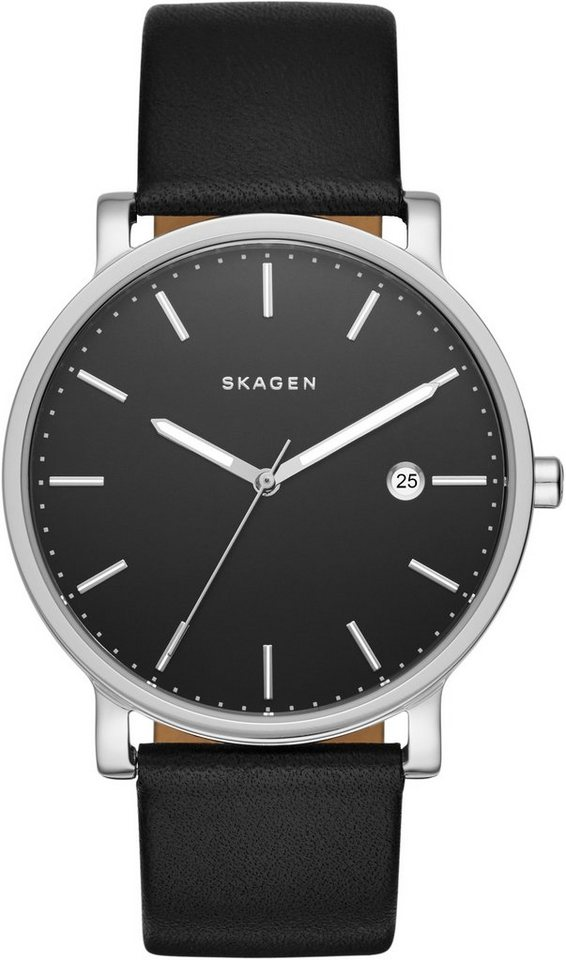 Skagen Armbanduhr, »HAGEN, SKW6294« in schwarz