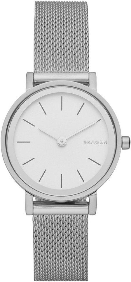 Skagen Armbanduhr, »HALD, SKW2441« in silberfarben
