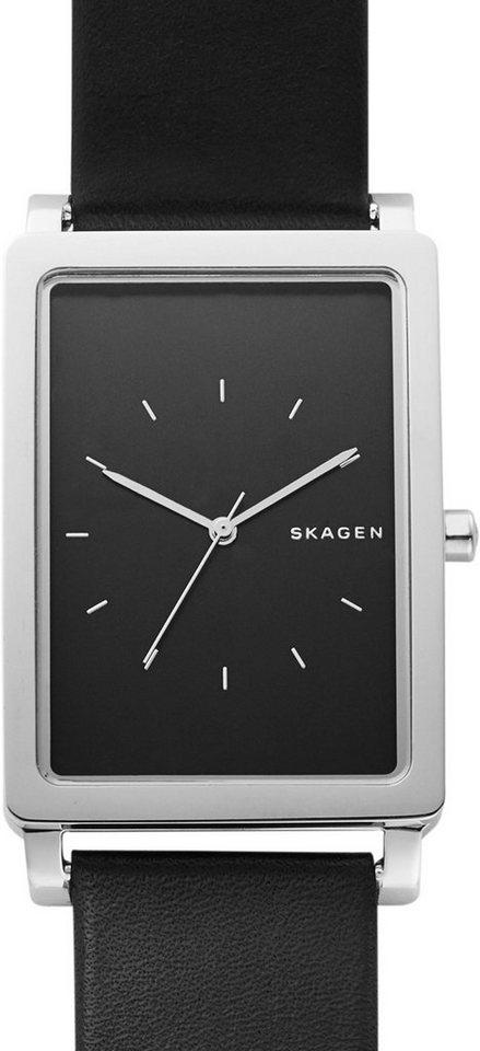 Skagen Armbanduhr, »HAGEN, SKW6287« in schwarz