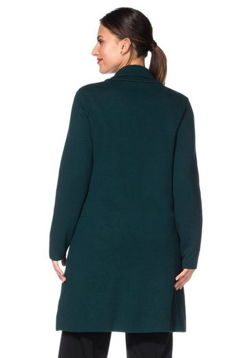 Sheego Class Knitting Coat With Shawl Collar