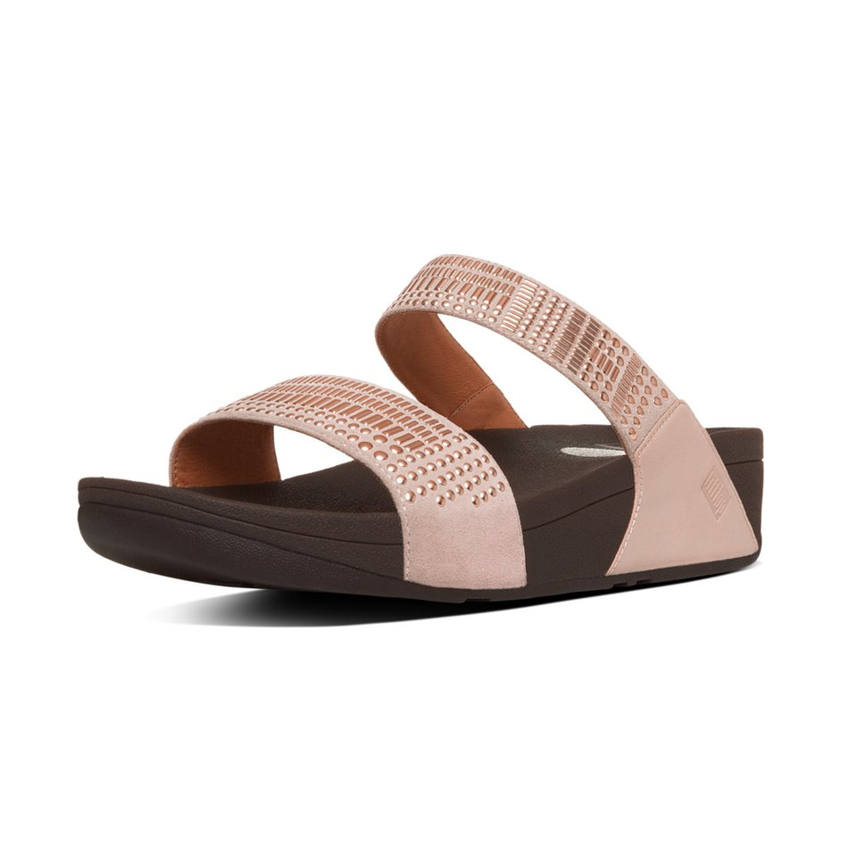 FitFlop Pantolette in goldfarben