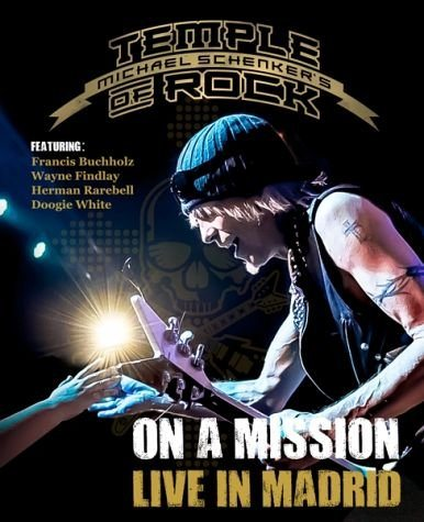 Blu-ray »On A Mission-Live In Madrid«