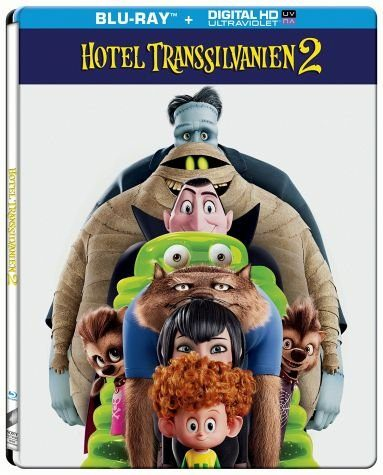Blu-ray »Hotel Transsilvanien 2 (Steelbook)«