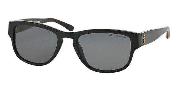 Polo Herren Sonnenbrille » PH4086« in 551881 - schwarz/grau