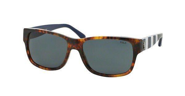 Polo Herren Sonnenbrille » PH4083« in 544187 - braun/blau
