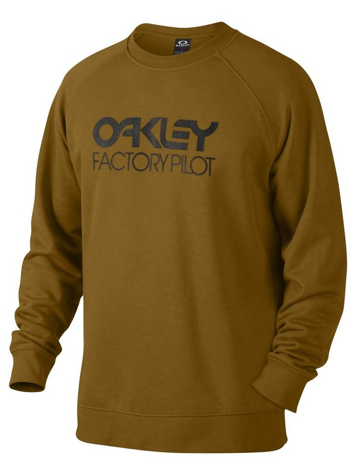 Oakley Pullover »DWR Factory Pilot Crewneck Men« in braun