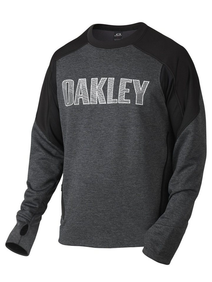 Oakley Pullover »Performance FLC Crewneck Men« in grau