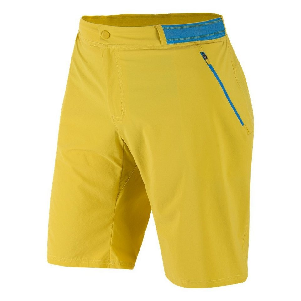 Salewa Outdoorhose »Pedroc Bermuda DST Shorts Men« in gelb