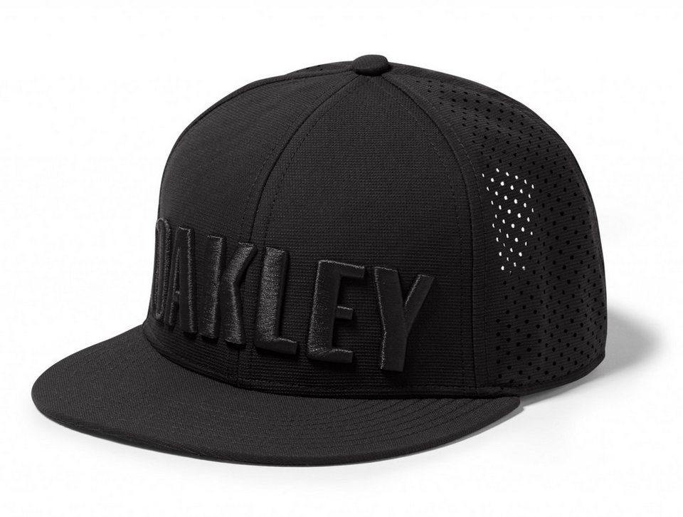Oakley Hut »Octane Perforation Hat Men« in schwarz