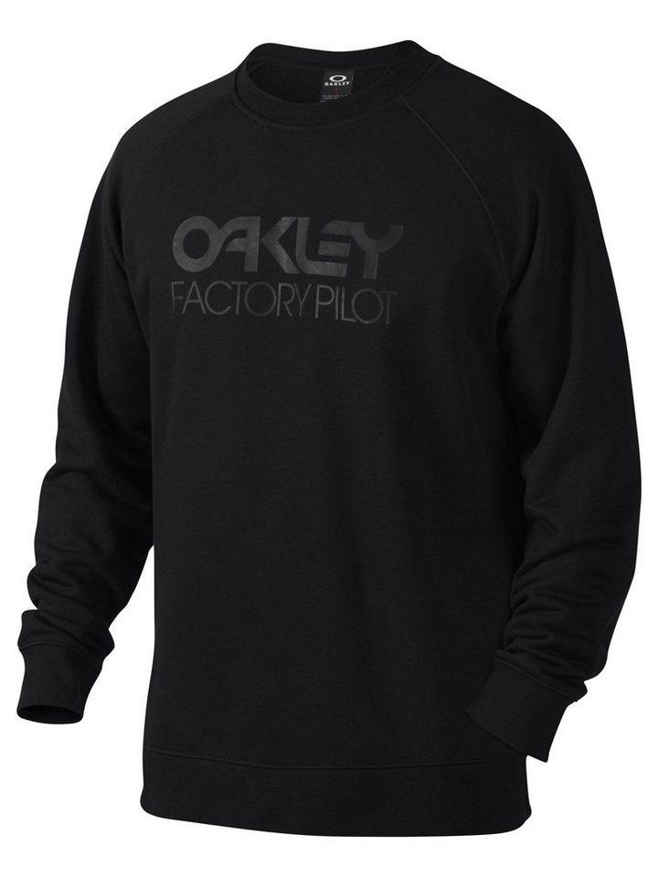 Oakley Pullover »DWR Factory Pilot Crewneck Men« in schwarz