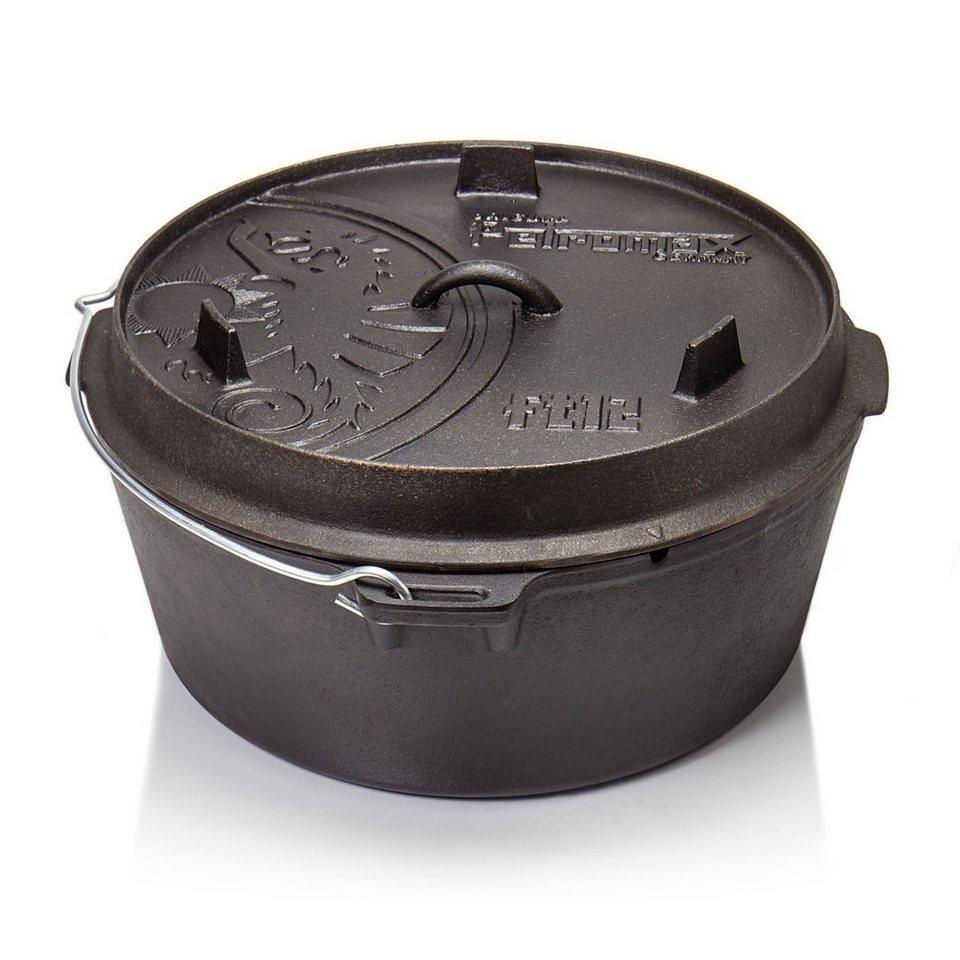 Petromax Camping-Geschirr »Feuertopf ohne Füße/ft 12« in schwarz