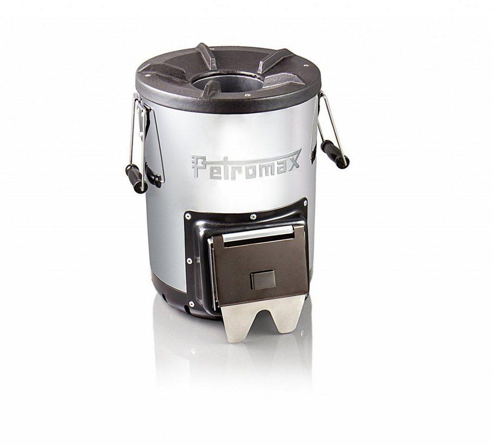 Petromax Camping-Grill »Raketenofen fs 33« in silber