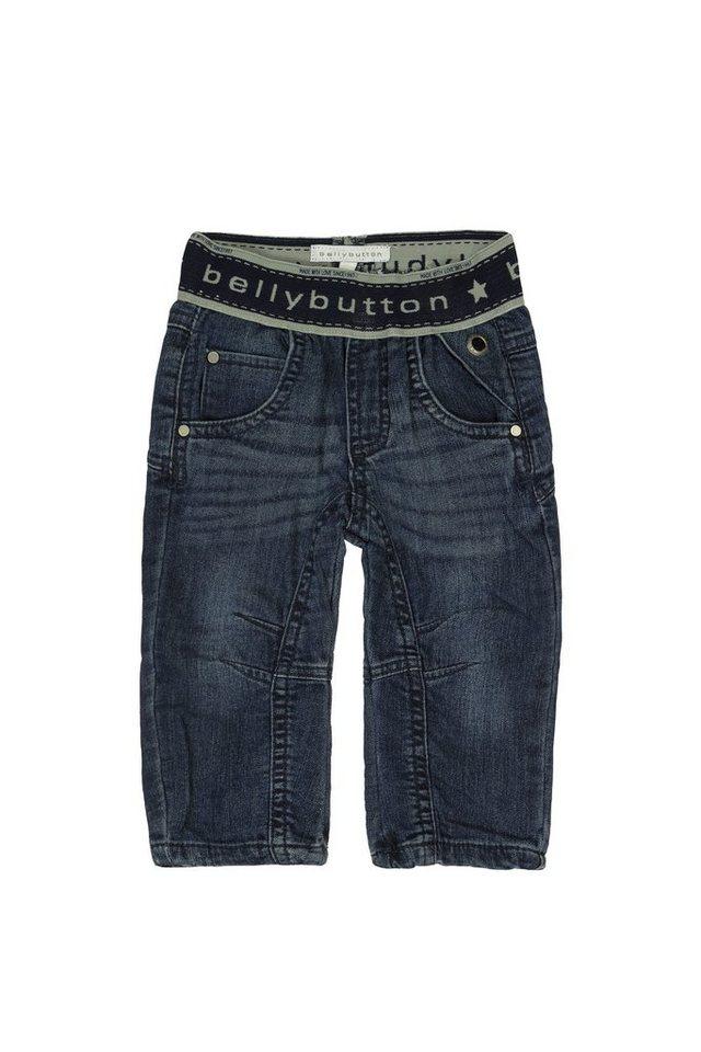 BELLYBUTTON Babyjeans »super soft bis Gr. 86« in blue denim