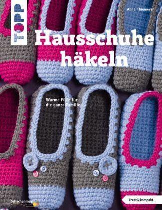 Broschiertes Buch »Hausschuhe häkeln (kreativ.kompakt.)«
