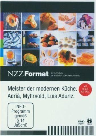 DVD »Meister Der Modernen Küche - Nzz Format«