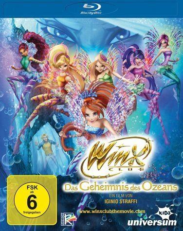 Blu-ray »Winx Club - Das Geheimnis des Ozeans«