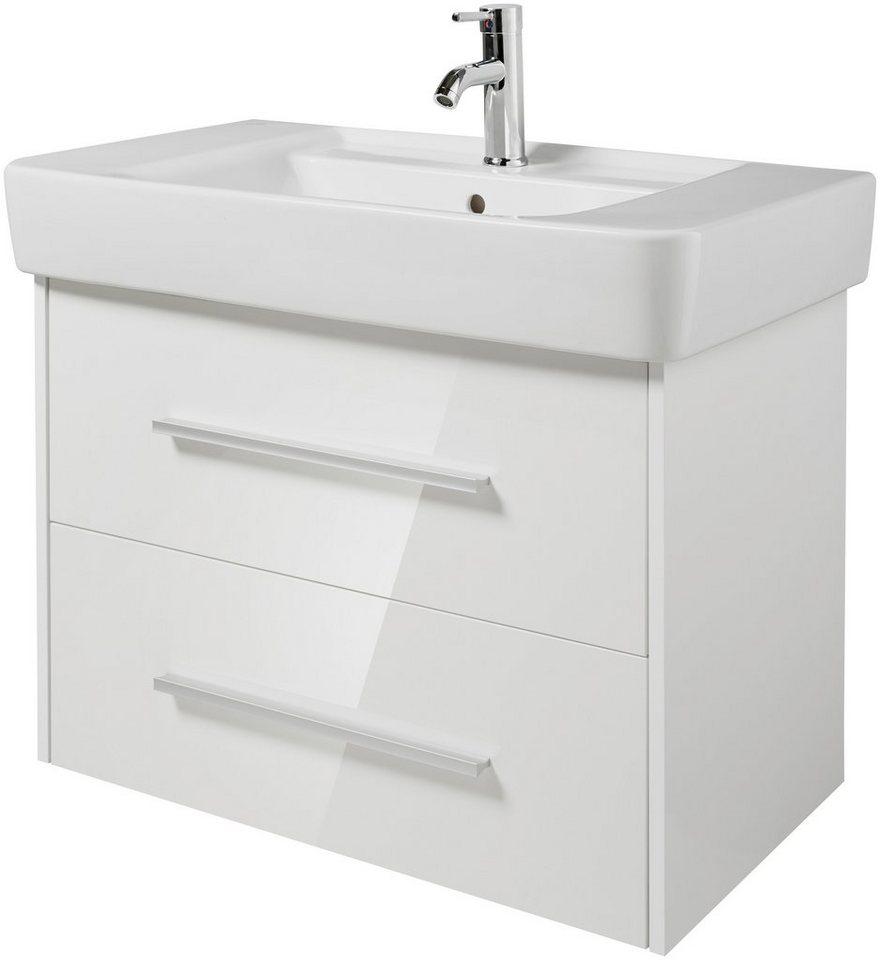 keramag waschtisch renova nr 1 plan inkl unterbauschrank breite 85 cm 2 tlg online. Black Bedroom Furniture Sets. Home Design Ideas
