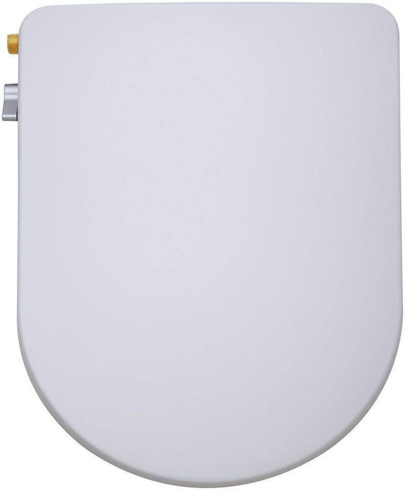 Dusch-WC-Aufsatz »FP104« in weiß