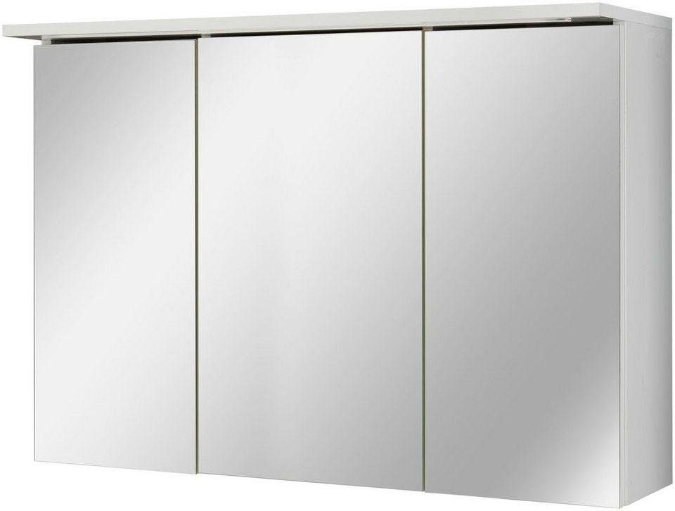 kesper spiegelschrank sun breite 100 cm mit led beleuchtung online kaufen otto. Black Bedroom Furniture Sets. Home Design Ideas
