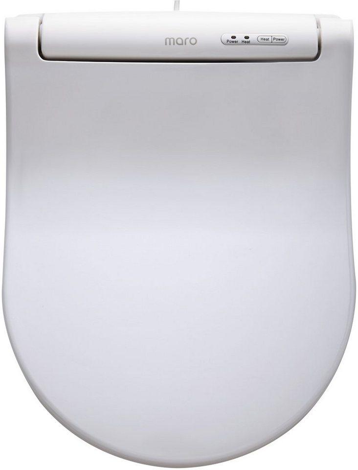 WC-Sitz, beheizbar, Mit Absenkautomatik in weiß