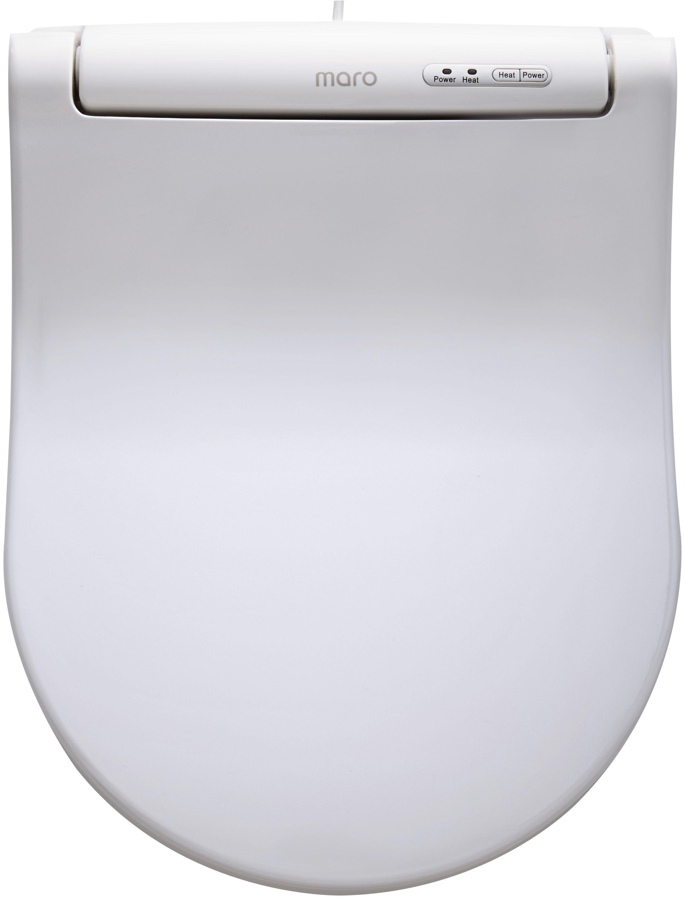 WC-Sitz, beheizbar, Mit Absenkautomatik