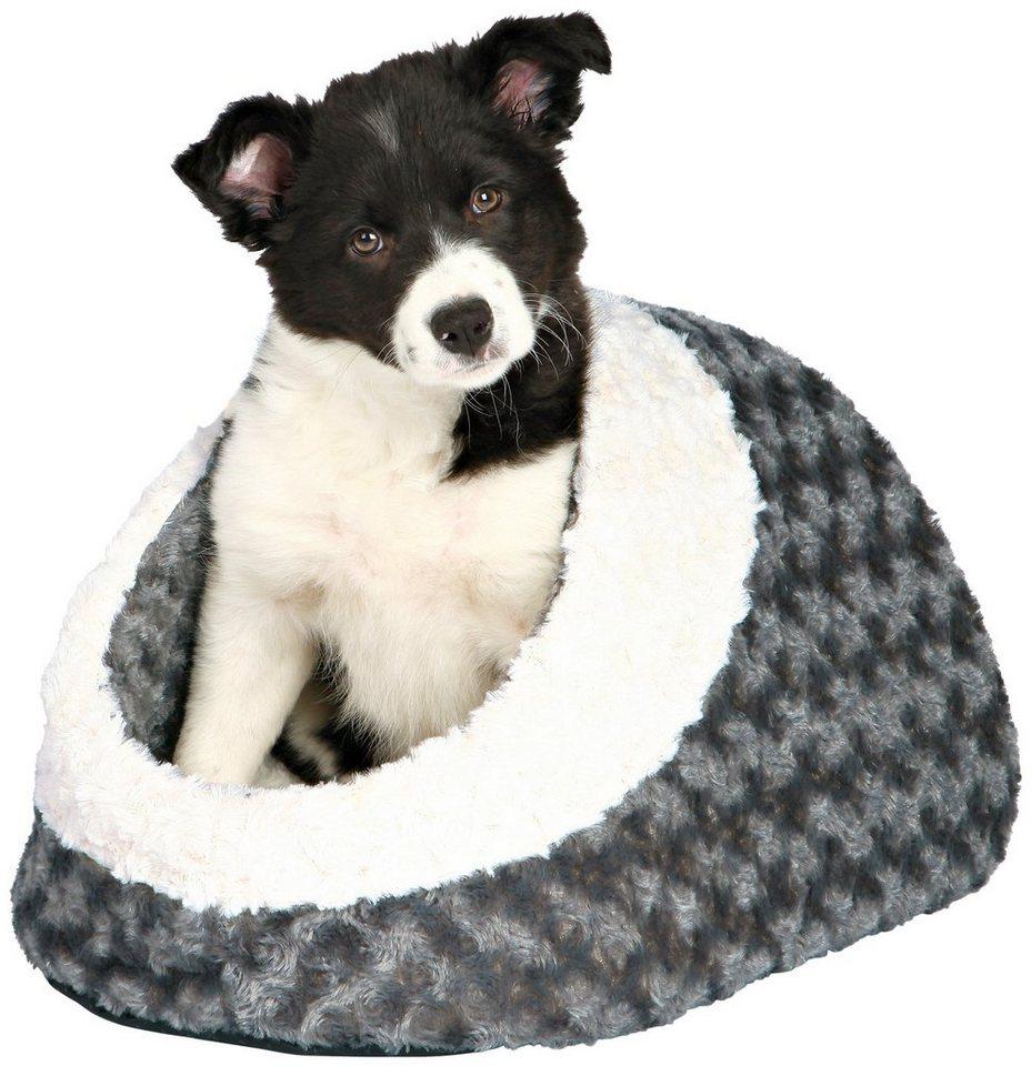 Hundehöhle und Katzenhöhle »Kaline« in grau/cremefarben