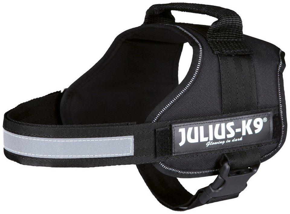 Hunde-Geschirr »Julius-K9 0/M-L«, schwarz, 58-76 cm in schwarz