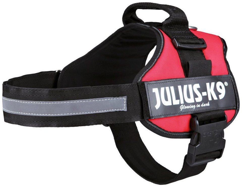 Hunde-Geschirr »Julius-K9 1/L«, rot, 66-85 cm in rot
